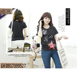 Áo thun nữ thời trang Hàn QUốc L120617