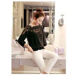 Áo kiểu nữ xinh yêu, điệu đà - Mã MM80268