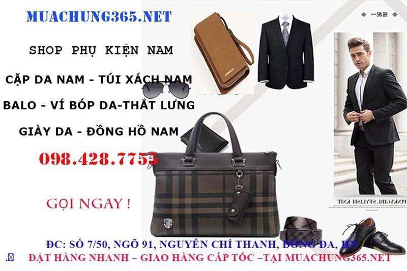 GIÀY DA NAM CÔNG SỞ SANG TRỌNG-GD125 1