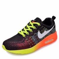 giày thể thao nike màu sắc - Mã: GH0220 - XANH LÁ