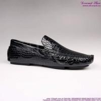 Giày mọi nam da cá sấu phong cách lịch lãm sang trọng GDNHK127