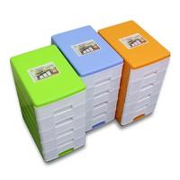 Tủ nhựa nhí 5 ngăn Hiệp Thành Plastic 26.5cm x 18cm x 35.5cm