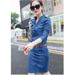Đầm jean tay lỡ - D967