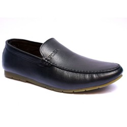 Giày lười, giày mọi da mềm, đế mềm đi êm chân