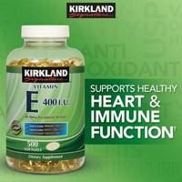 Vitamin E - E 400 IU KIRKLAND 500 viên