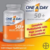 One A Day 50+ Women 200 viên -Bổ sung vitamin cho phụ nữ trên 50 tuổi