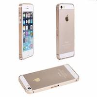 Ốp viền nhôm iPhone 5 nút gài