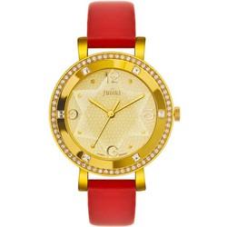 Đồng hồ Nữ dây da siêu bền JU1014 đỏ - Thương Hiệu