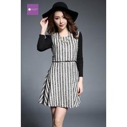 [LaiLa Fashion] Hàng nhập - Đầm váy liền nữ thu đông 2015 DH1547