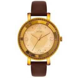 Đồng hồ Nữ Dây Da Chính Hãng JU1014 Nâu - Thương Hiệu
