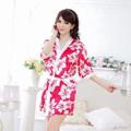 Áo choàng ngủ kiểu Kimono kèm quần chip