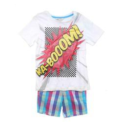 Combo áo thun quần kaki bé trai xuất khẩu, thanh lý hàng trưng bày