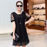 Đầm Suông Tay Ren
