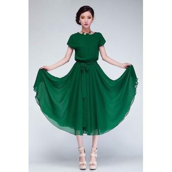 Đầm xòe Vintage Milano - BY2046