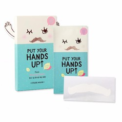 Wax Tẩy Ria Mép Face Waxing Patch Put Your Hands Up