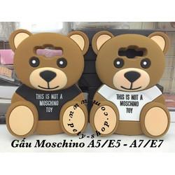 Ốp Gấu Moschino Samsung A5 A7 E5 E7