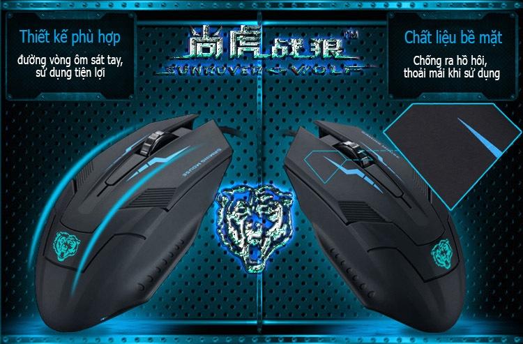 Chuột máy tính Tiger X5 4