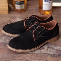 Giày oxford da lộn cao cấp Glado - G59