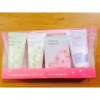 Bộ Sản Phẩm Mỹ Phẩm Du Lịch The Face Shop Flower Sensual Travel Kit