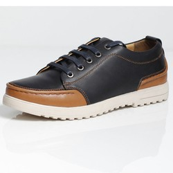 Giày da TT08 thời trang, đế mềm dáng thể thao