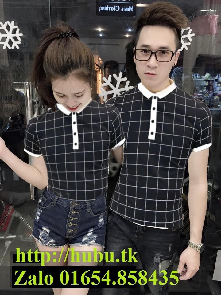 Bộ 2 áo thun đôi nam nữ giá 2 áo size S,M  AT0071 2