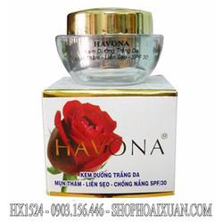kem dưỡng trắng da Mụn Thâm Liền Sẹo Havona SPF30 - HX1524