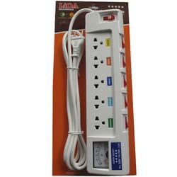 Ổ cắm điện Lioa công suất cao 5OFSSA2.5-2 Trắng