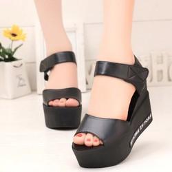 Giày Sandal đế bánh mì SD147D - F3979.com