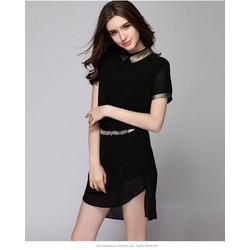 Đầm suông xinh kèm belt