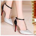 Hàng loại I - Giày cao gót Rosata quai đeo sang trọng