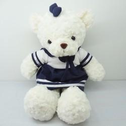 Gấu Lông Xoắn Váy Học Sinh