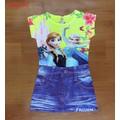 Đầm giả Jeans nữ hoàng băng giá  ELSA