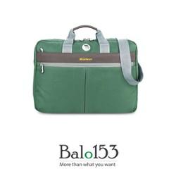 Balo153 - Túi xách Mikkor Editor Briefcase Green-Blue-Navy-Black