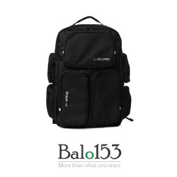 Balo153 - Balo đựng laptop 17inch Simplecarry R-city Black