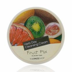 Kem tẩy trang  Herb Day 365 Cleansing Cream Fruits Mix – Hoa Quả