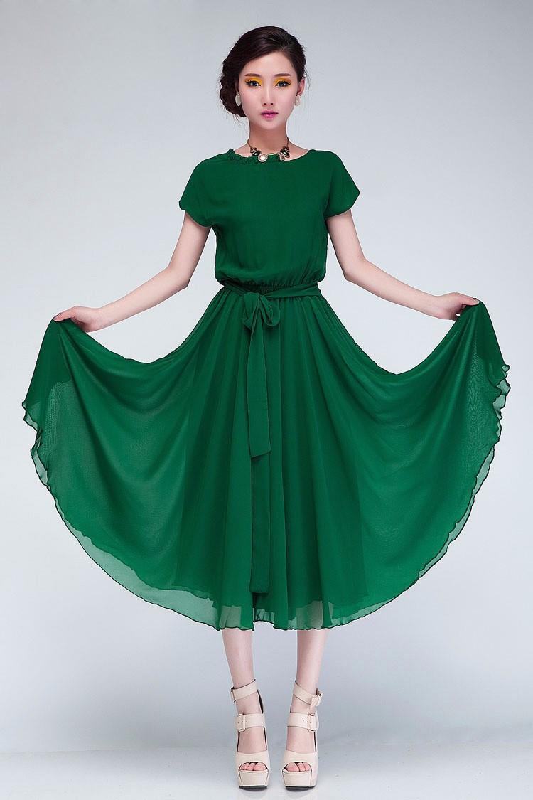 Đầm xòe Vintage Milano - BY2046 1