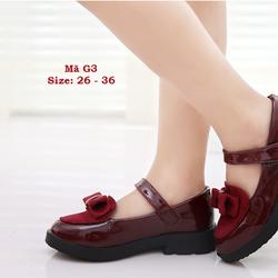 Giày phong cách vintage cực xinh cho bé gái 3 - 12 tuổi G3