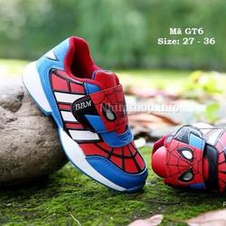 Giày Spiderman cho bé trai kiểu dáng thể thao độc đáo GT6