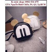 Túi đeo chéo Hàn Quốc phiên bản Mickey không đụng hàng