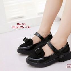 Giày cho bé gái 3 - 12 tuổi phong cách vintage cực xinh G3