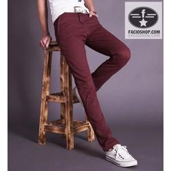 [Chuyên sỉ - lẻ]  Quần dài kaki nam Facioshop QD168
