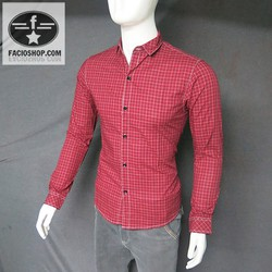 [Chuyên sỉ - lẻ]  Áo sơ mi cotton nam Facioshop SD356