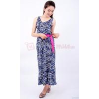 Đầm maxi hoa thun
