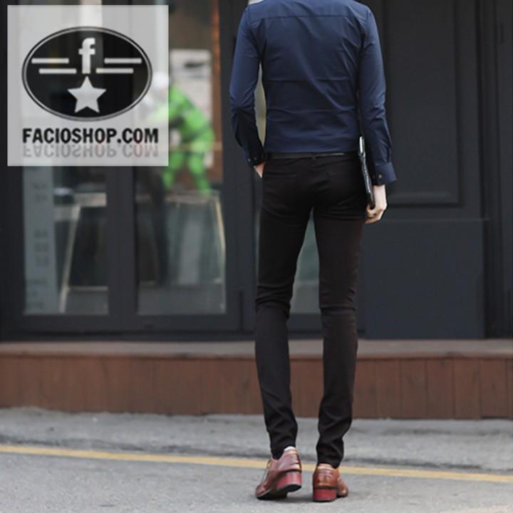 [Chuyên sỉ - lẻ] Quần dài kaki nam Facioshop QA165 2