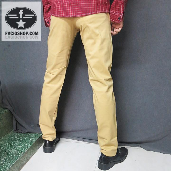 [Chuyên sỉ - lẻ] Quần dài kaki nam Facioshop QG168 2