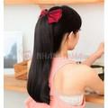 Tóc giả nối xả xoăn nhẹ đuôi Hàn Quốc