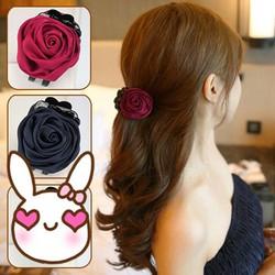 Ms439 kẹp tóc hoa hồng xinh xắn