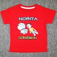 Áo thun Doremon màu đỏ HC032