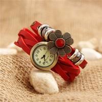 Đồng hồ VINTAGE tròn trơn thời trang VI002 hot!!