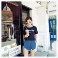 Quần short jean thời trang Carla Boutique